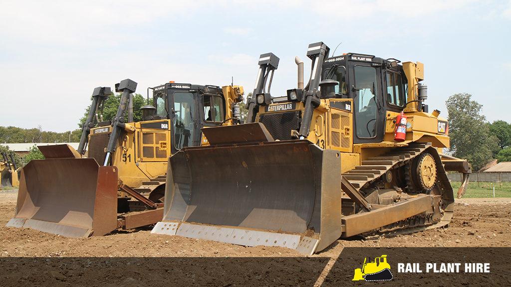 Caterpillar D8T – Rail Plant Hire